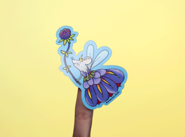 Fairy Queen Mouse Sticker