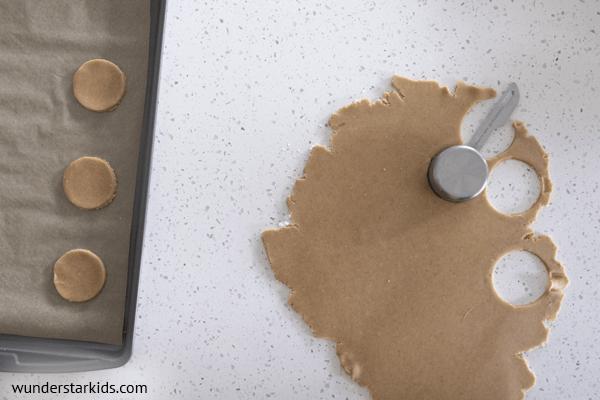 Moon Pie Crust Cookie cutters