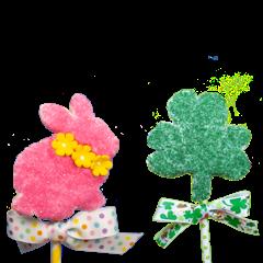 Bunny Craft and Shamrock craft