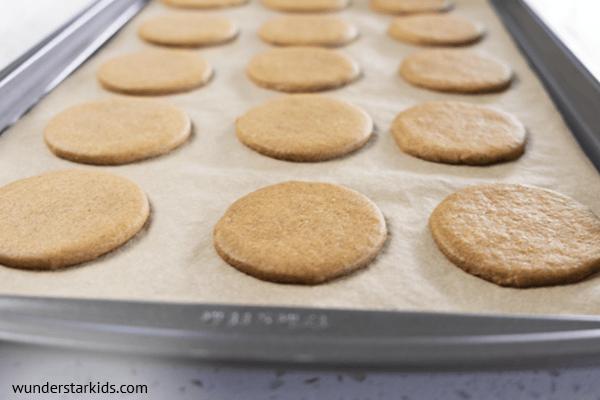 Moon Pie graham cracker cookies